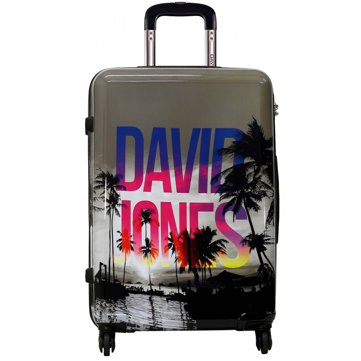valise rigide david jones 76cm ba20581g couleur. Black Bedroom Furniture Sets. Home Design Ideas