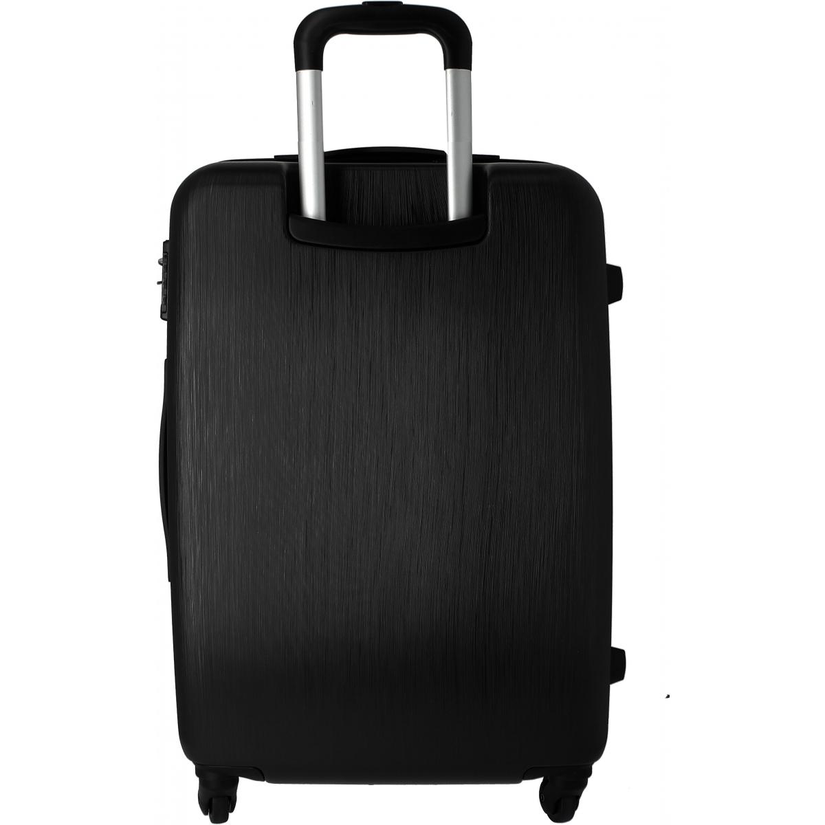 valise rigide david jones taille g tsa ba10141g couleur principale noir valise. Black Bedroom Furniture Sets. Home Design Ideas