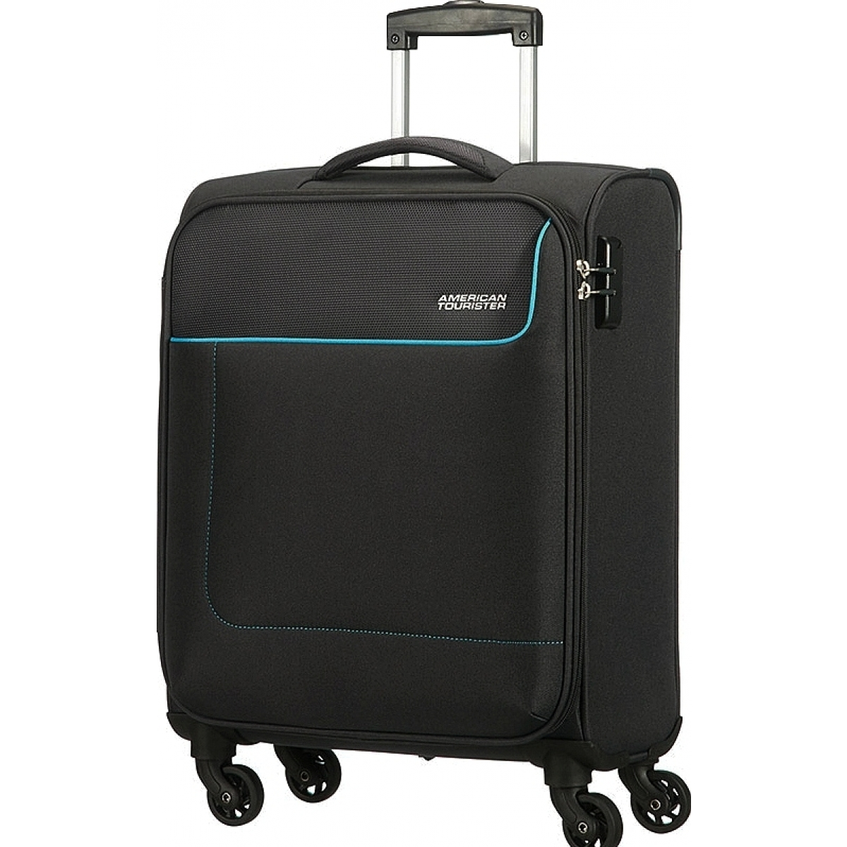 valise cabine american tourister funshine 55cm funshine07 couleur principale graphite. Black Bedroom Furniture Sets. Home Design Ideas