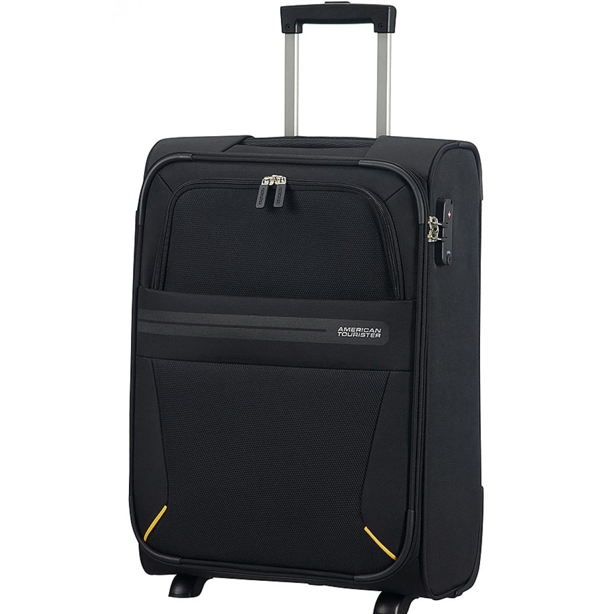 valise cabine summer voyager american tourister 55 20 cm noir summervoyager58 couleur. Black Bedroom Furniture Sets. Home Design Ideas
