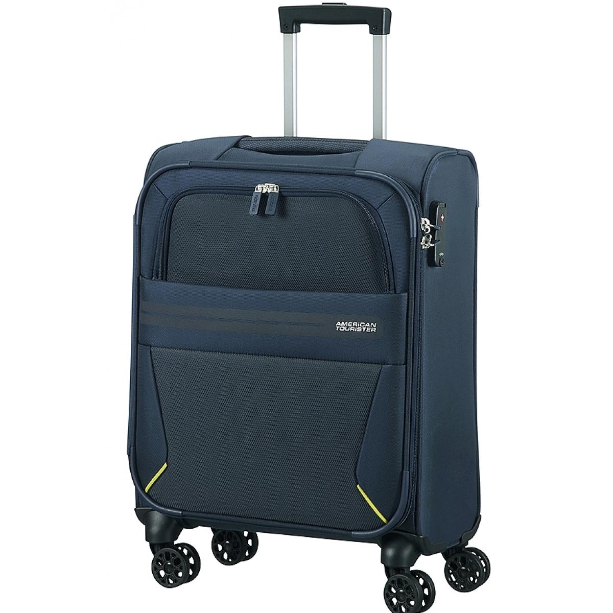 valise cabine summer voyager american tourister 55 20 cm bleu summervoyager59 couleur. Black Bedroom Furniture Sets. Home Design Ideas