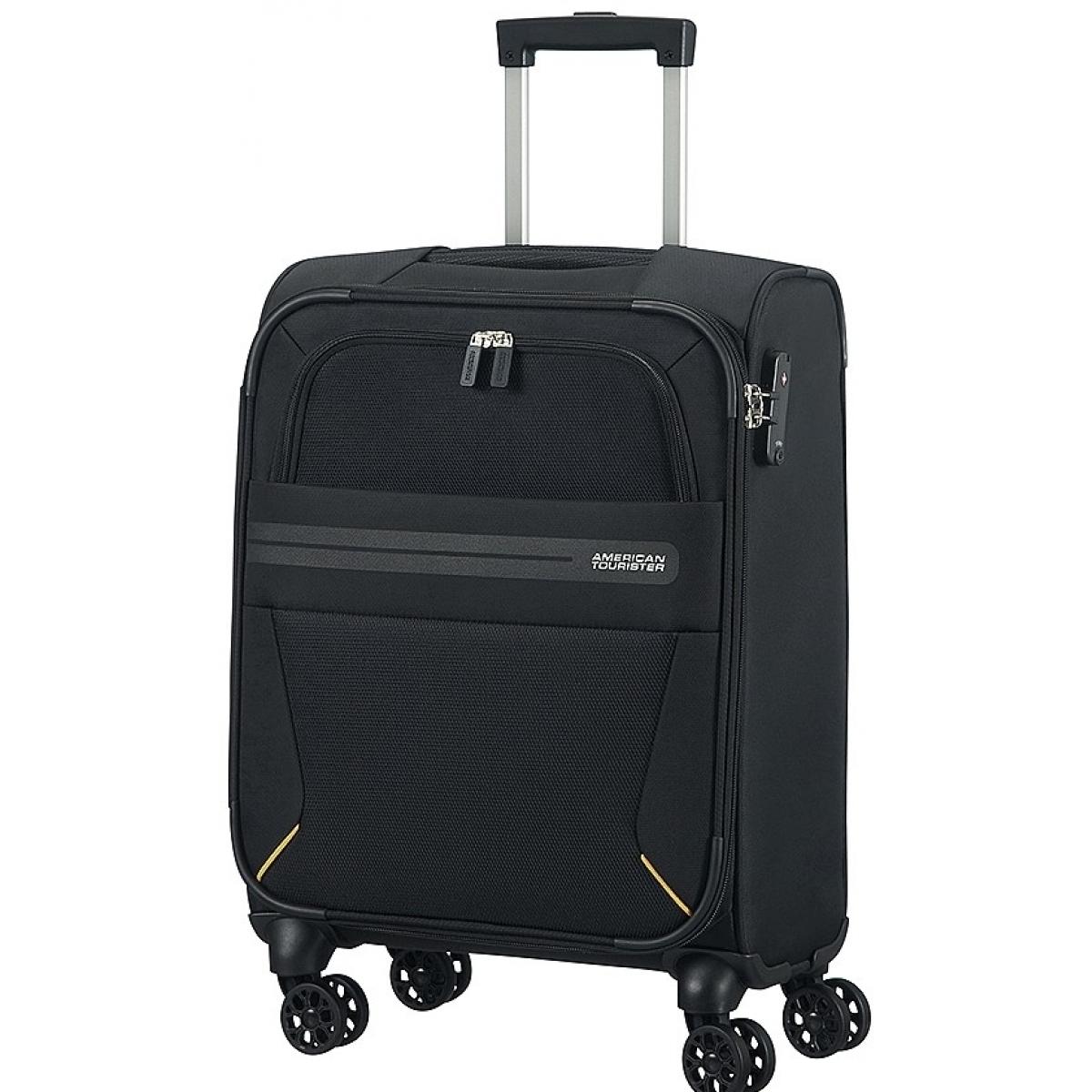 valise cabine summer voyager american tourister 55 20 cm noir summervoyager59 couleur. Black Bedroom Furniture Sets. Home Design Ideas