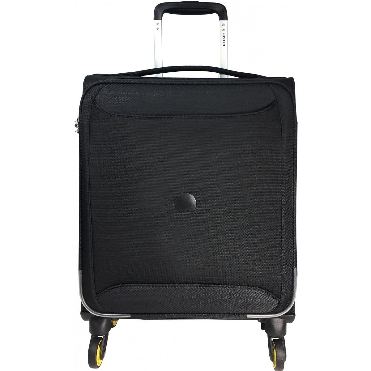 valise cabine souple tsa delsey chartreuse 55 cm chartreuse803 noir couleur principale