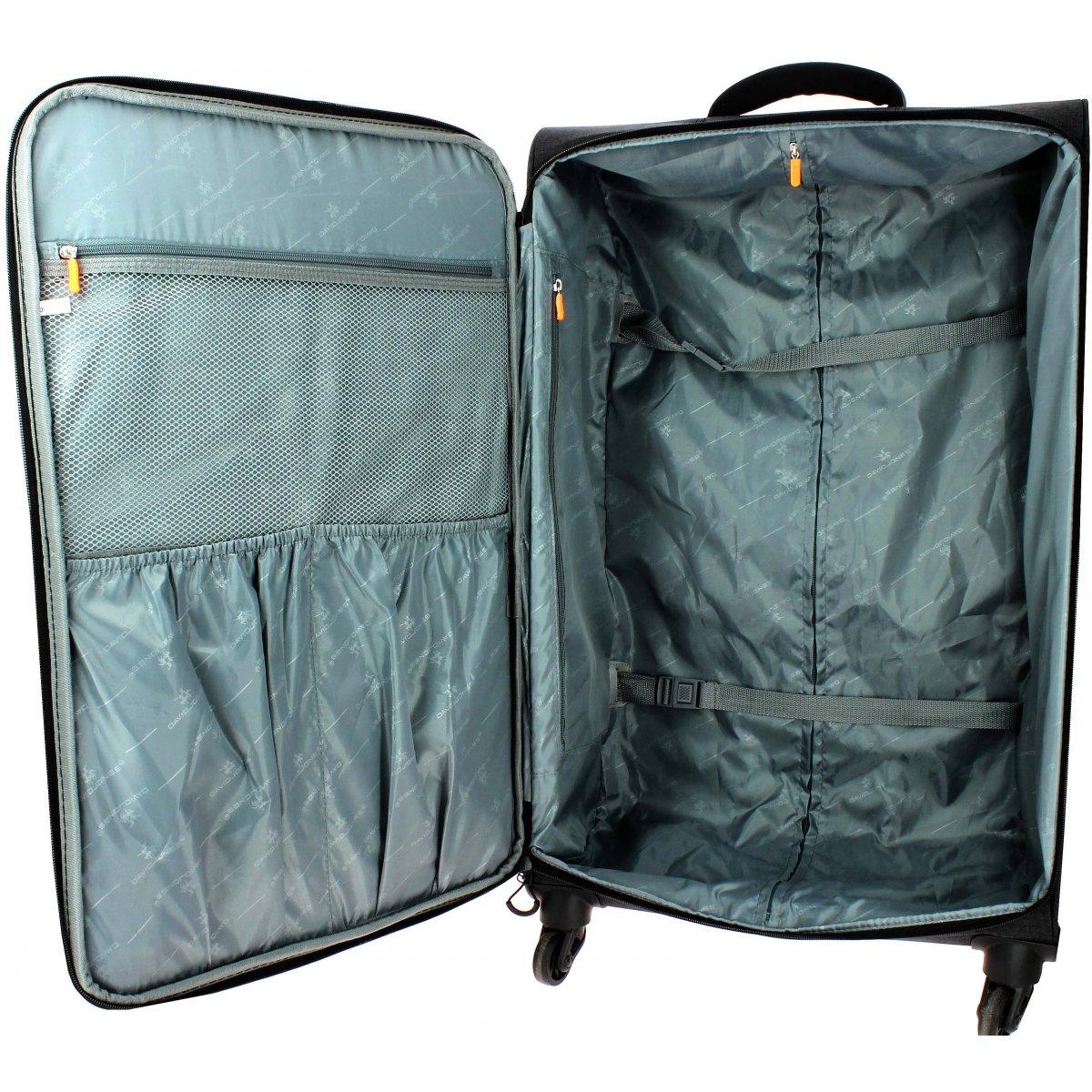 valise souple david jones grande taille 77cm ba50311g couleur principale noir valise. Black Bedroom Furniture Sets. Home Design Ideas