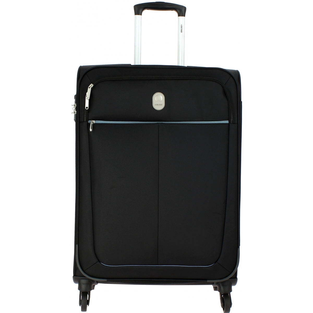 valise souple delsey caleo 68cm caleo811 couleur principale noir valise pas cher. Black Bedroom Furniture Sets. Home Design Ideas