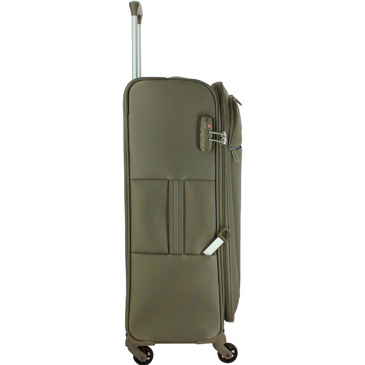 valise souple delsey caleo 68cm caleo811 couleur principale iguane valise pas cher. Black Bedroom Furniture Sets. Home Design Ideas