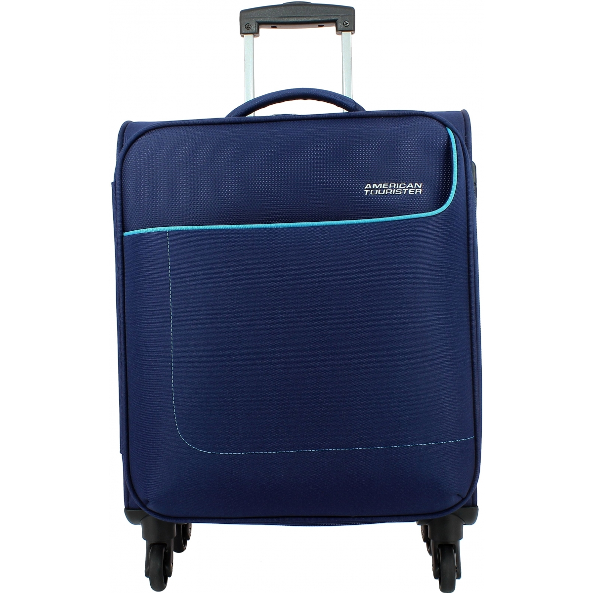 valise cabine american tourister funshine 55cm funshine07 couleur principale orion blue. Black Bedroom Furniture Sets. Home Design Ideas