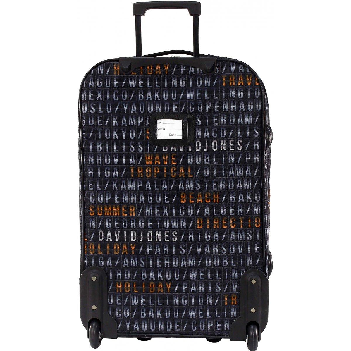 lot 3 valises dont 1 cabine ryanair david jones ba10023 couleur principale affichage. Black Bedroom Furniture Sets. Home Design Ideas