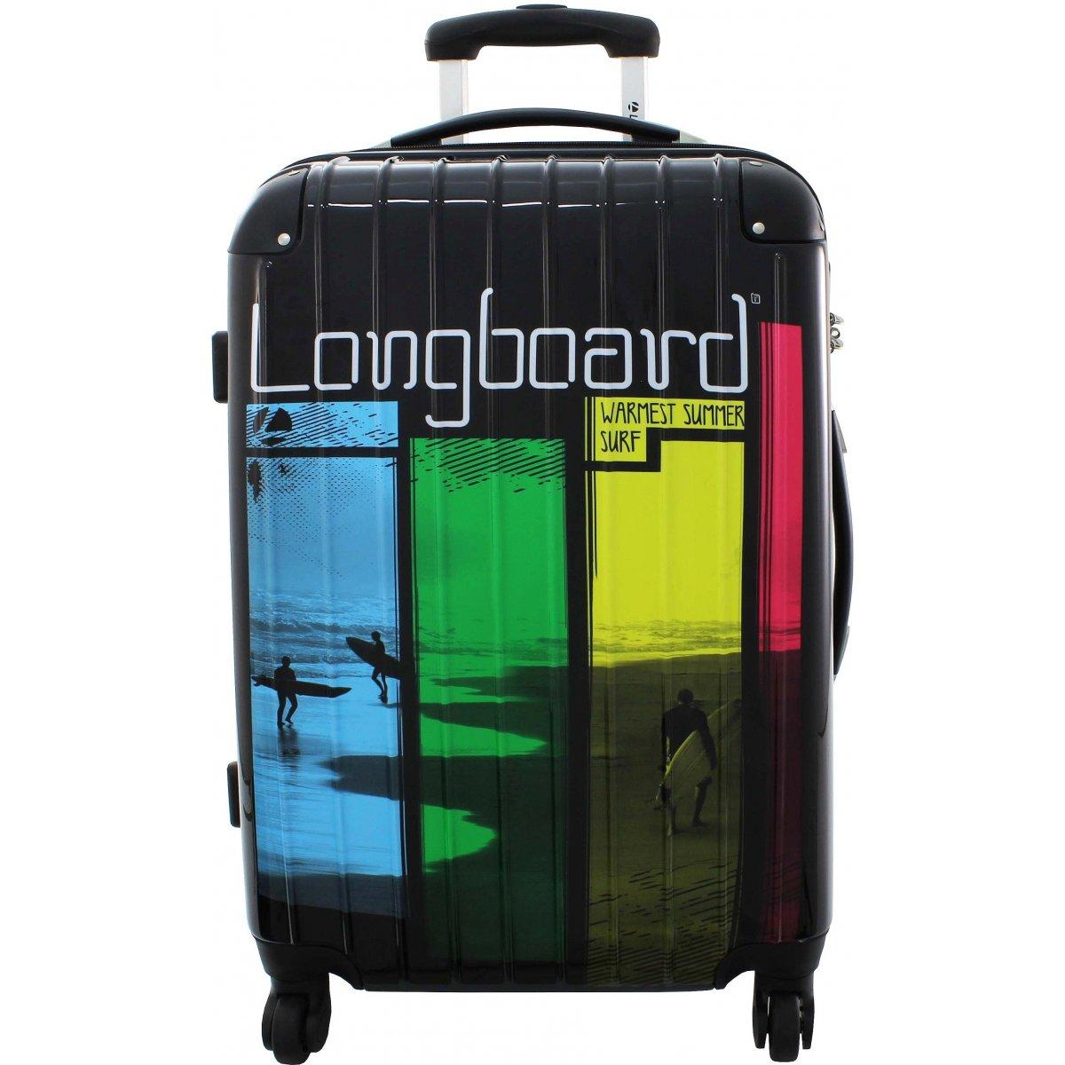lot 3 valises longboard 441014 couleur principale noir promotion. Black Bedroom Furniture Sets. Home Design Ideas