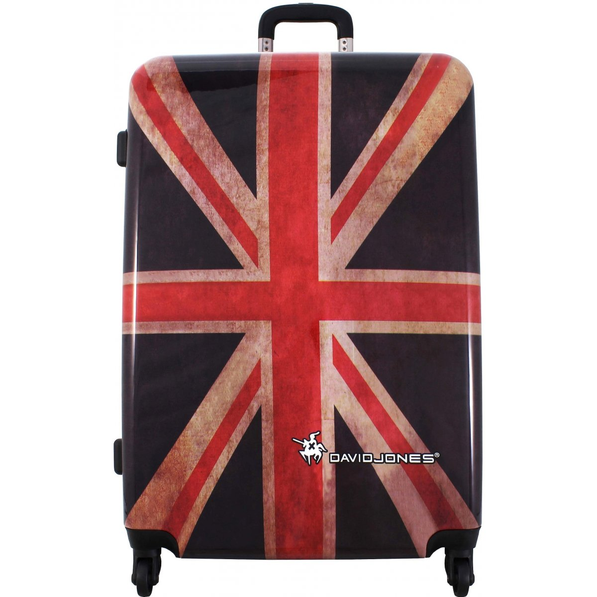 Valise rigide david jones 76cm ba20571g couleur principale drapeau uk p - Boutique londres pas cher ...
