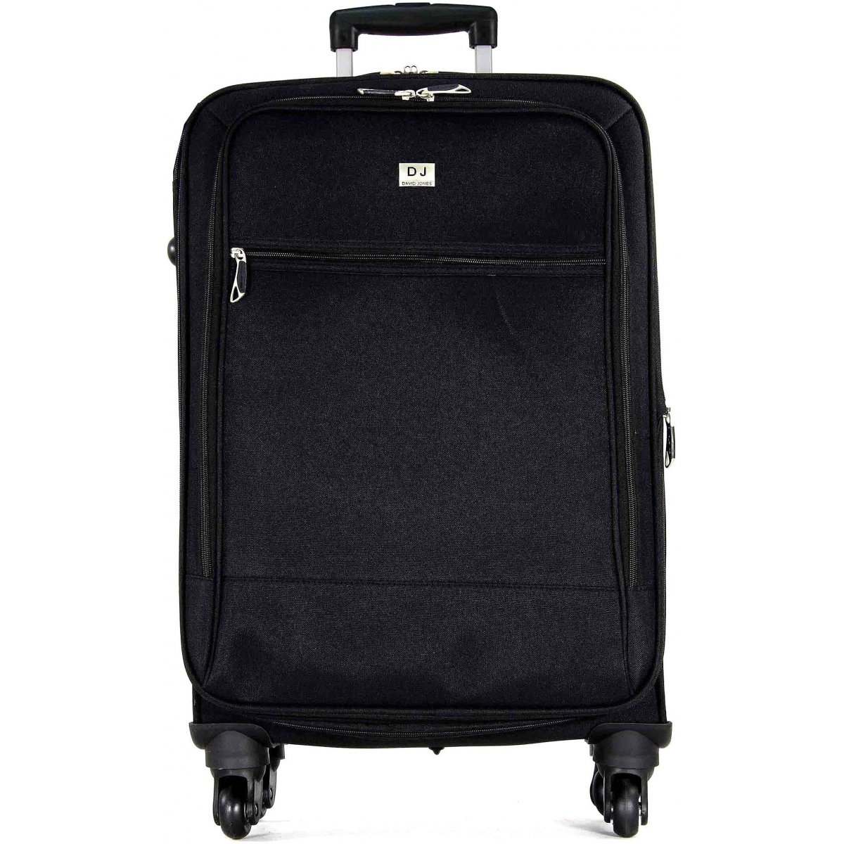 valise souple david jones taille m 66cm r20031m couleur principale noir solde. Black Bedroom Furniture Sets. Home Design Ideas