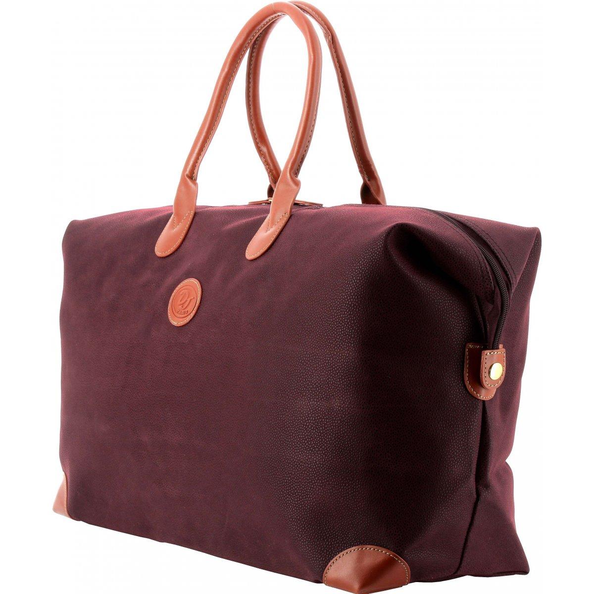 sac de voyage 48h david jones dj88884a couleur violet promotion bleucerise