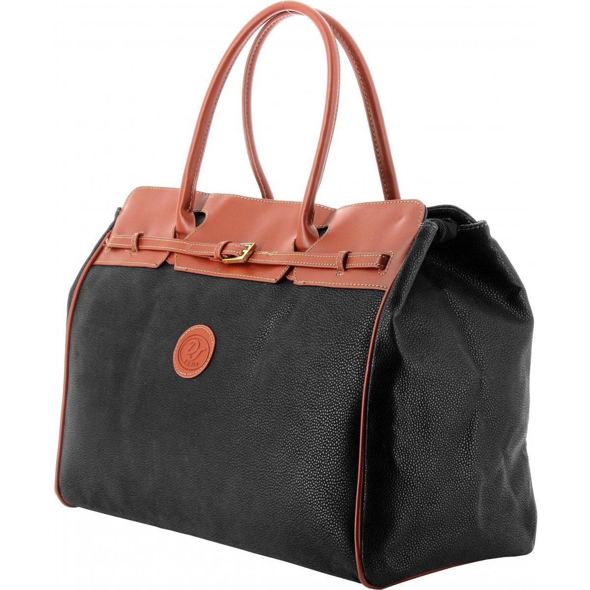 sac de voyage 48h david jones dj88887a couleur noir. Black Bedroom Furniture Sets. Home Design Ideas