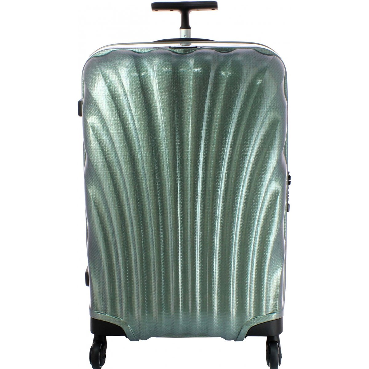 valise samsonite comsmolite spinner 81 cm cosmolite52 couleur principale vert metallique. Black Bedroom Furniture Sets. Home Design Ideas