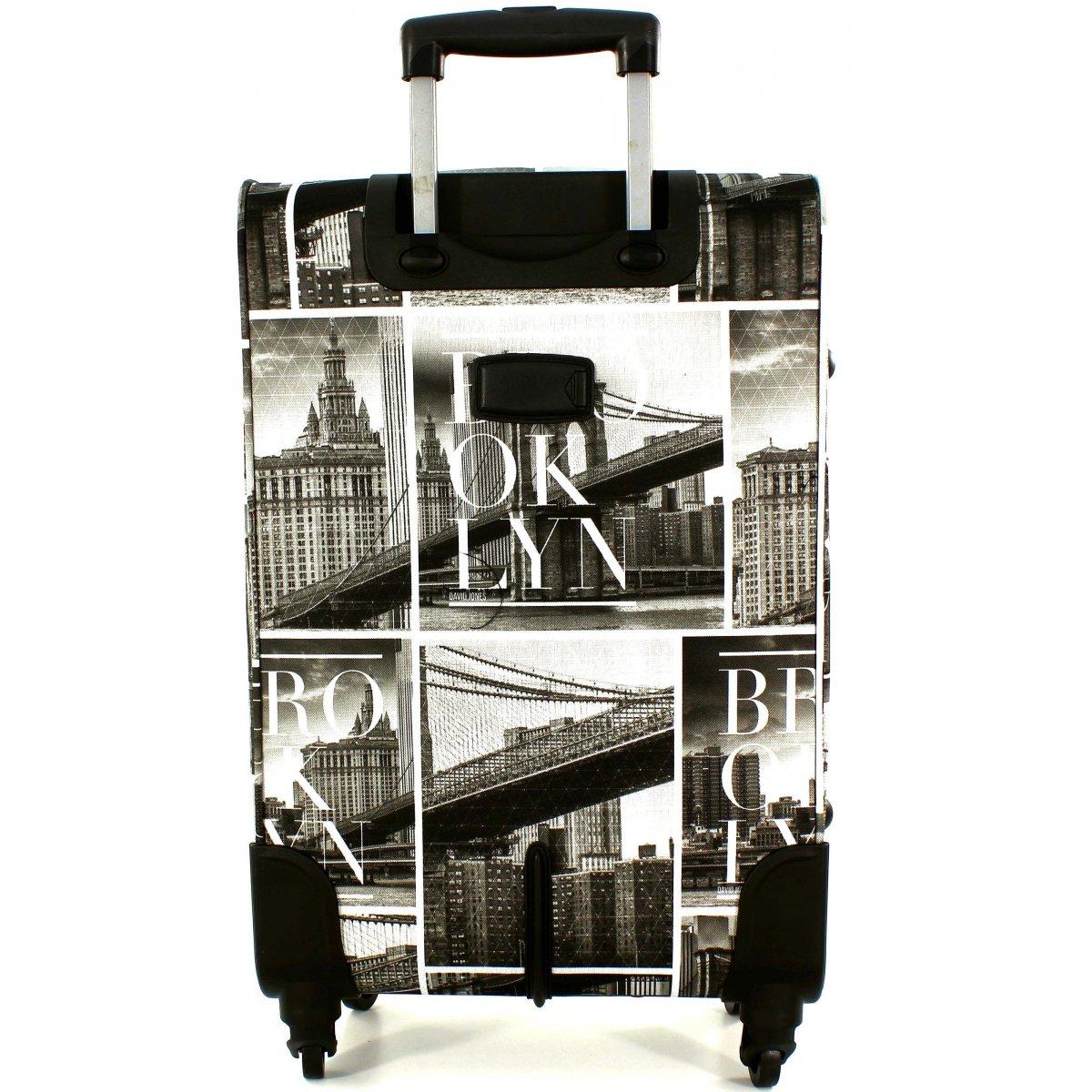 lot 3 valises dont 1 cabine ryanair david jones ba50273 couleur principale brooklyn. Black Bedroom Furniture Sets. Home Design Ideas
