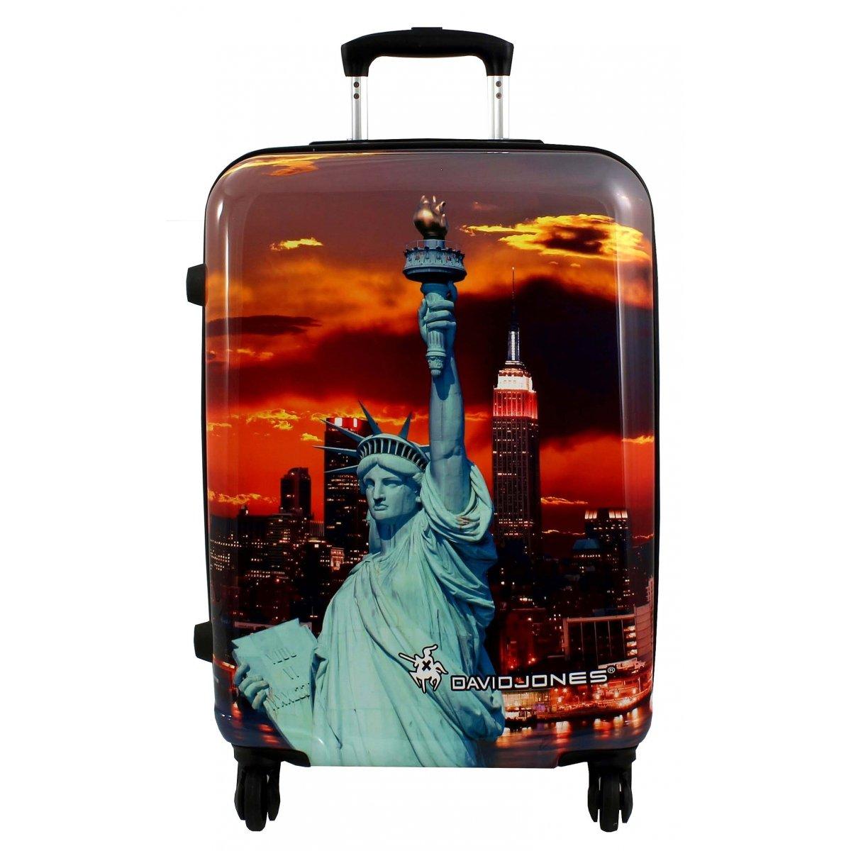 lot 3 valises dont 1 cabine ryanair david jones poly couleur principale statue liberte. Black Bedroom Furniture Sets. Home Design Ideas