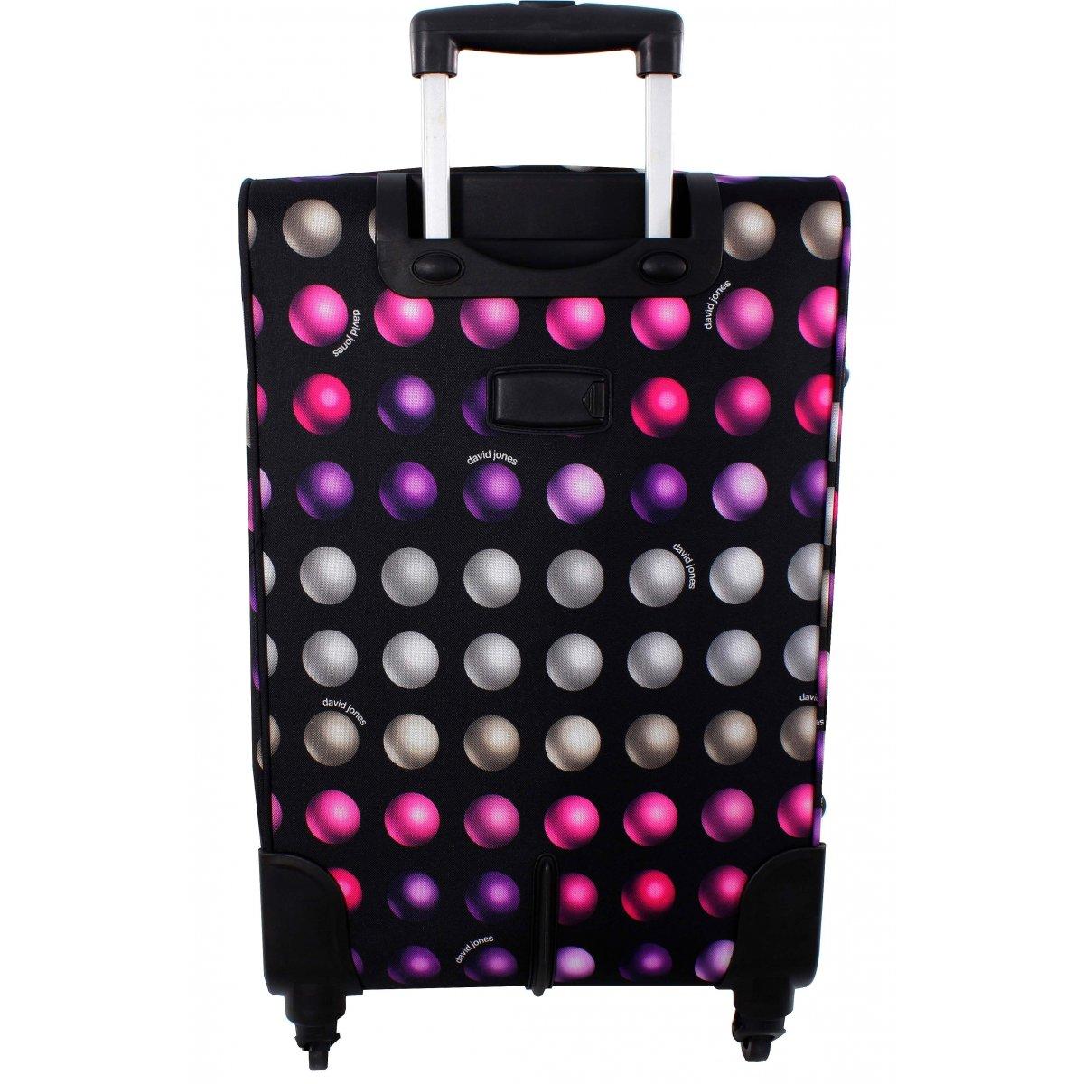 lot 3 valises dont 1 cabine ryanair david jones r20033 couleur principale buzz rose. Black Bedroom Furniture Sets. Home Design Ideas