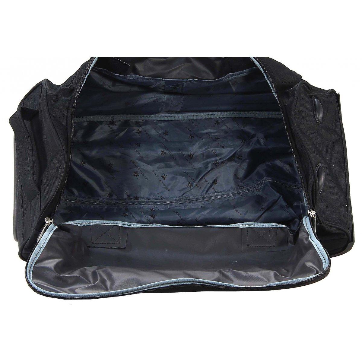 sac de voyage roulettes david jones taille m ba60201m couleur principale a419 promotion. Black Bedroom Furniture Sets. Home Design Ideas