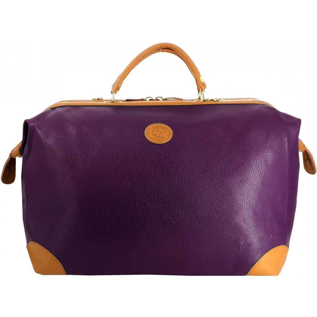 sac de voyage 48h david jones 77773c couleur violet promotion. Black Bedroom Furniture Sets. Home Design Ideas