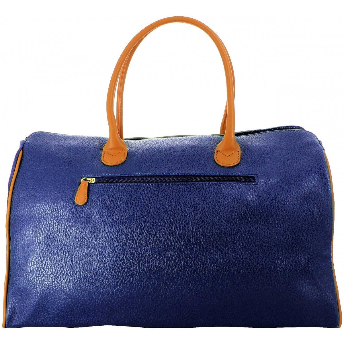 sac de voyage 48h david jones 77775c couleur bleu. Black Bedroom Furniture Sets. Home Design Ideas