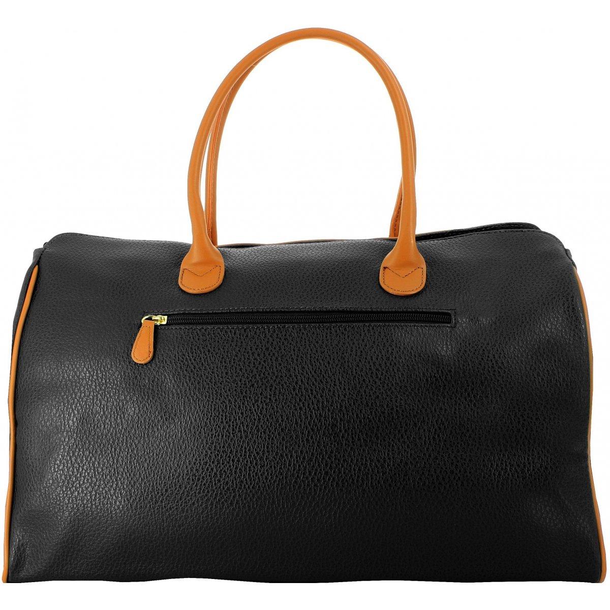 sac de voyage 48h david jones 77775c couleur noir. Black Bedroom Furniture Sets. Home Design Ideas
