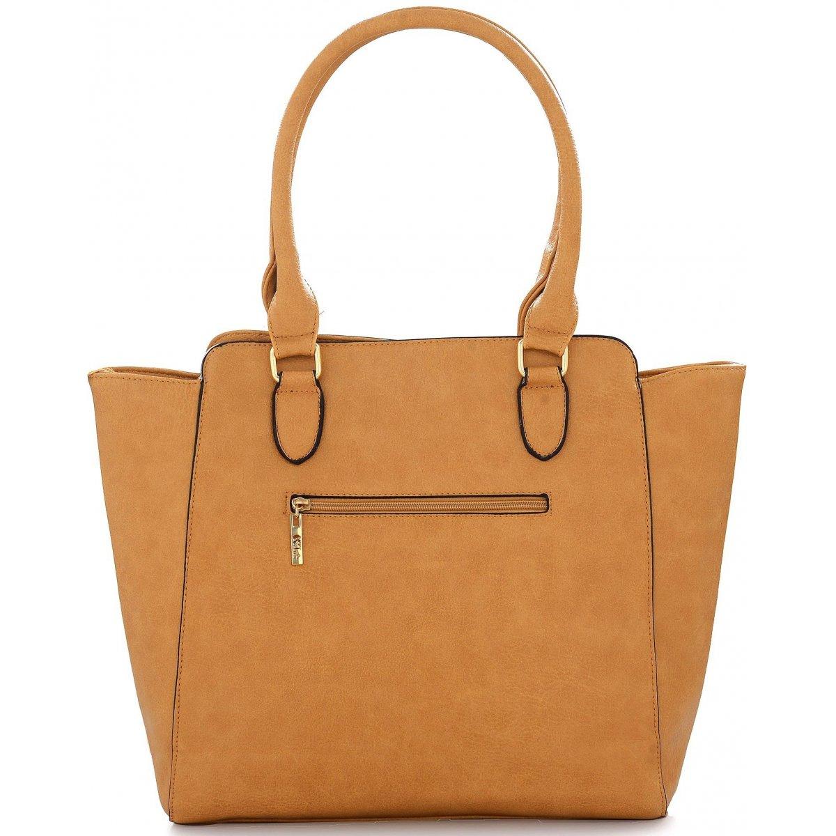 sac main les sacs de krlot fkg0006 couleur principale camel promotion. Black Bedroom Furniture Sets. Home Design Ideas