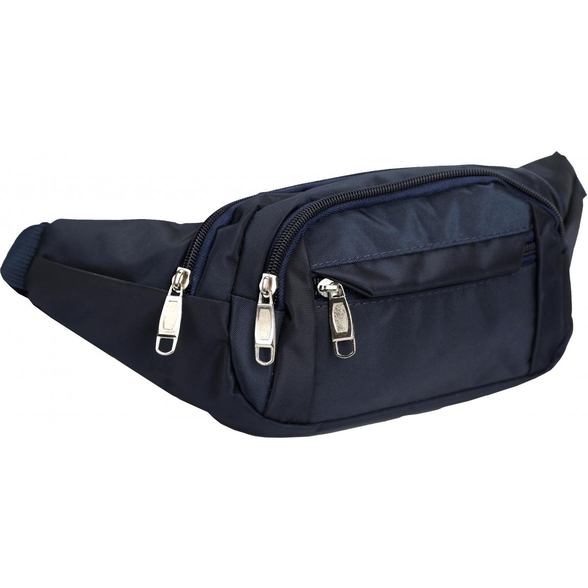 sac banane homme les sacs de krlot hkg0497 couleur bleu. Black Bedroom Furniture Sets. Home Design Ideas