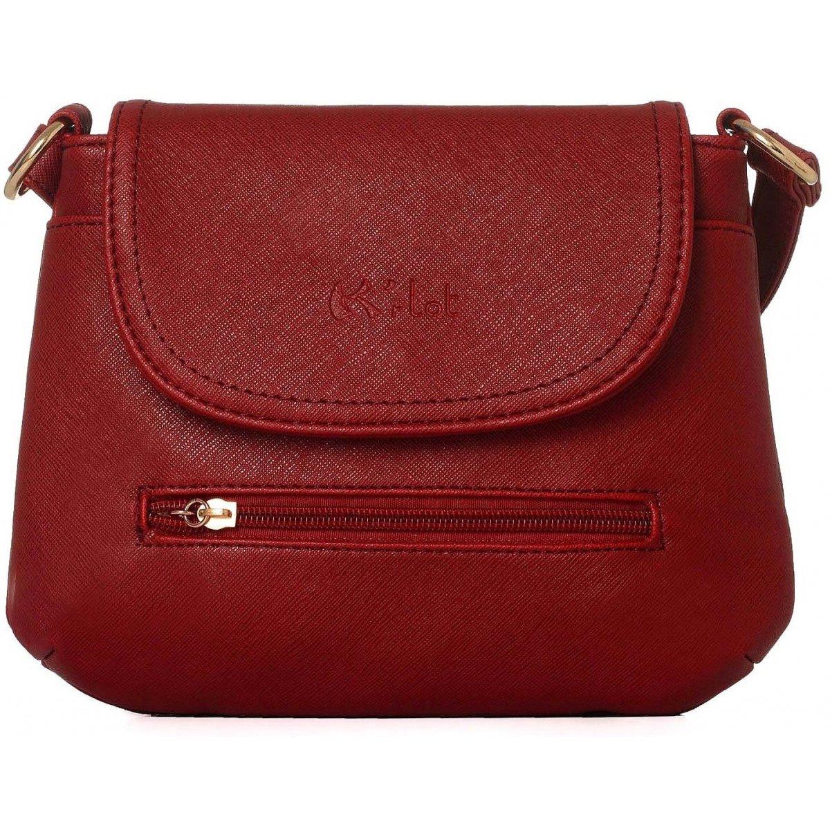 sac pochette bandouli re krlot fkg0231 couleur principale rouge. Black Bedroom Furniture Sets. Home Design Ideas