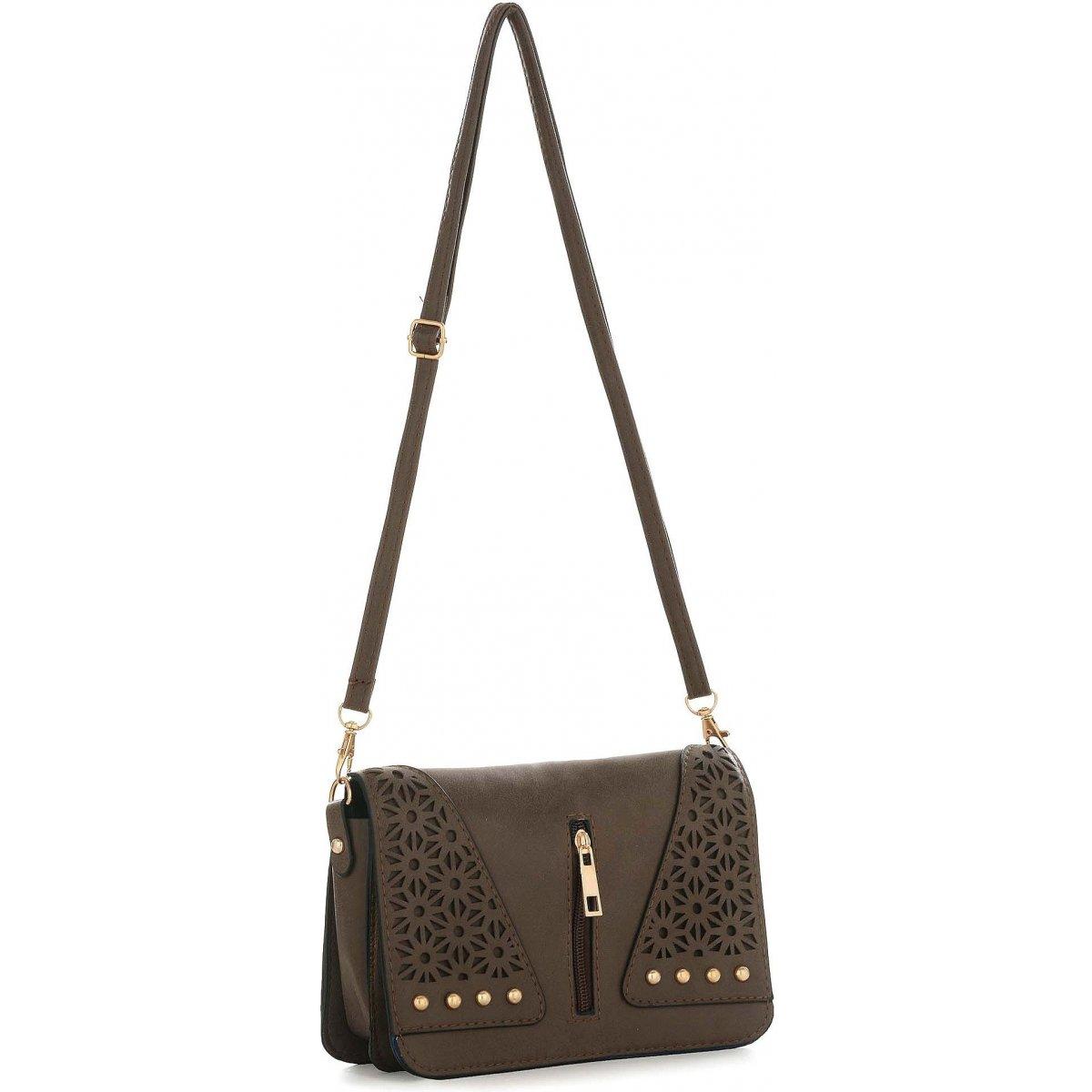 sac pochette bandouli re les sacs de k 39 rlot fkg0019 couleur principale noir. Black Bedroom Furniture Sets. Home Design Ideas