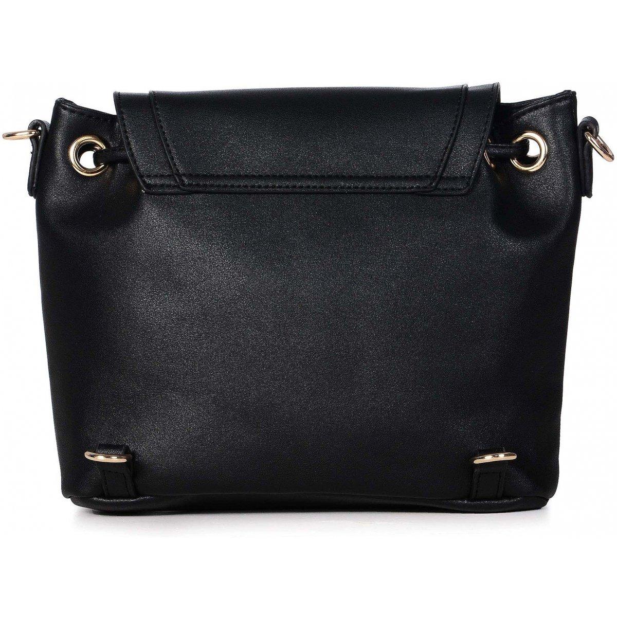 sac bandouli re dos les sacs de k 39 rlot fkg0015 couleur principale noir promotion. Black Bedroom Furniture Sets. Home Design Ideas