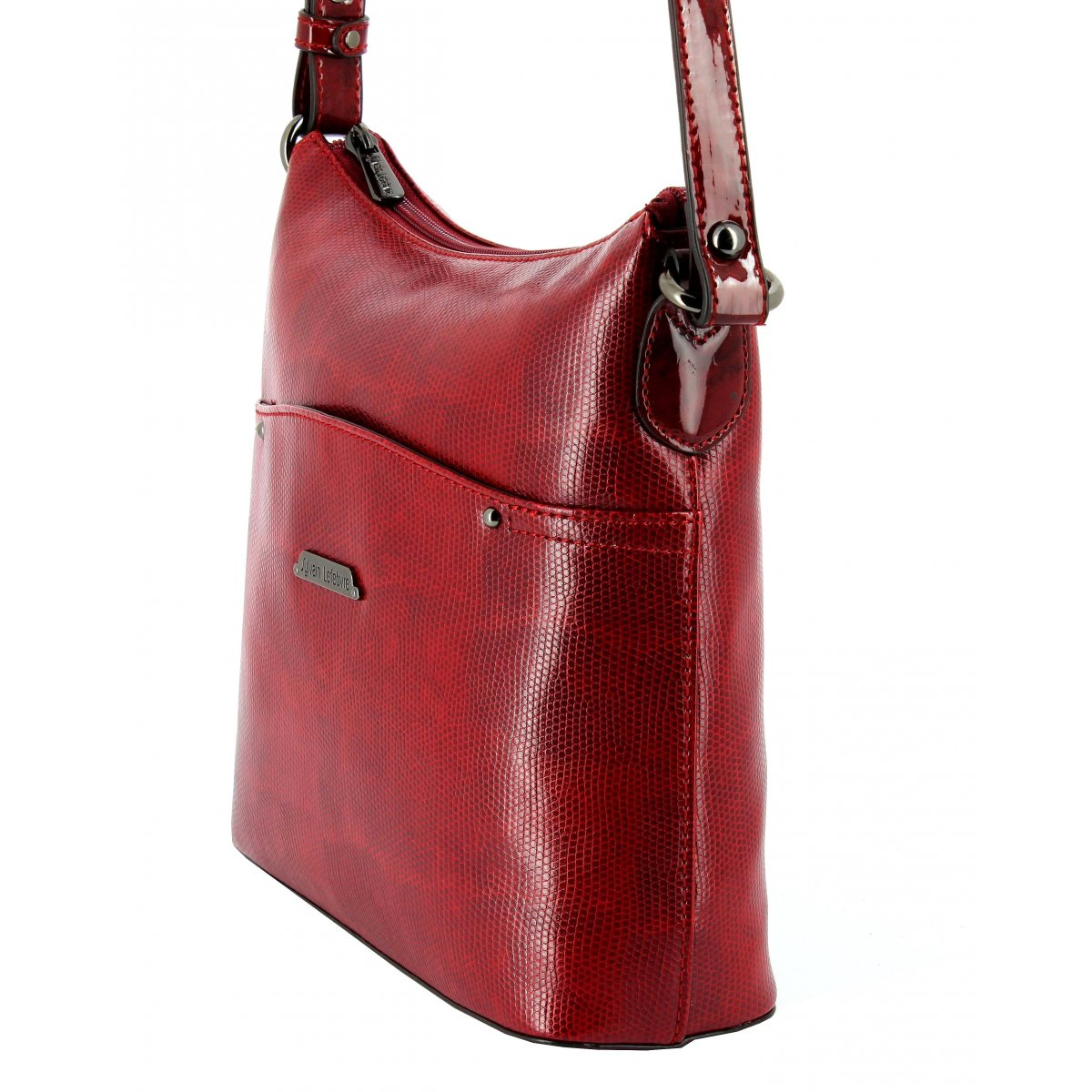 sac main bandouli re sylvain lefebvre sl894653 couleur rouge. Black Bedroom Furniture Sets. Home Design Ideas