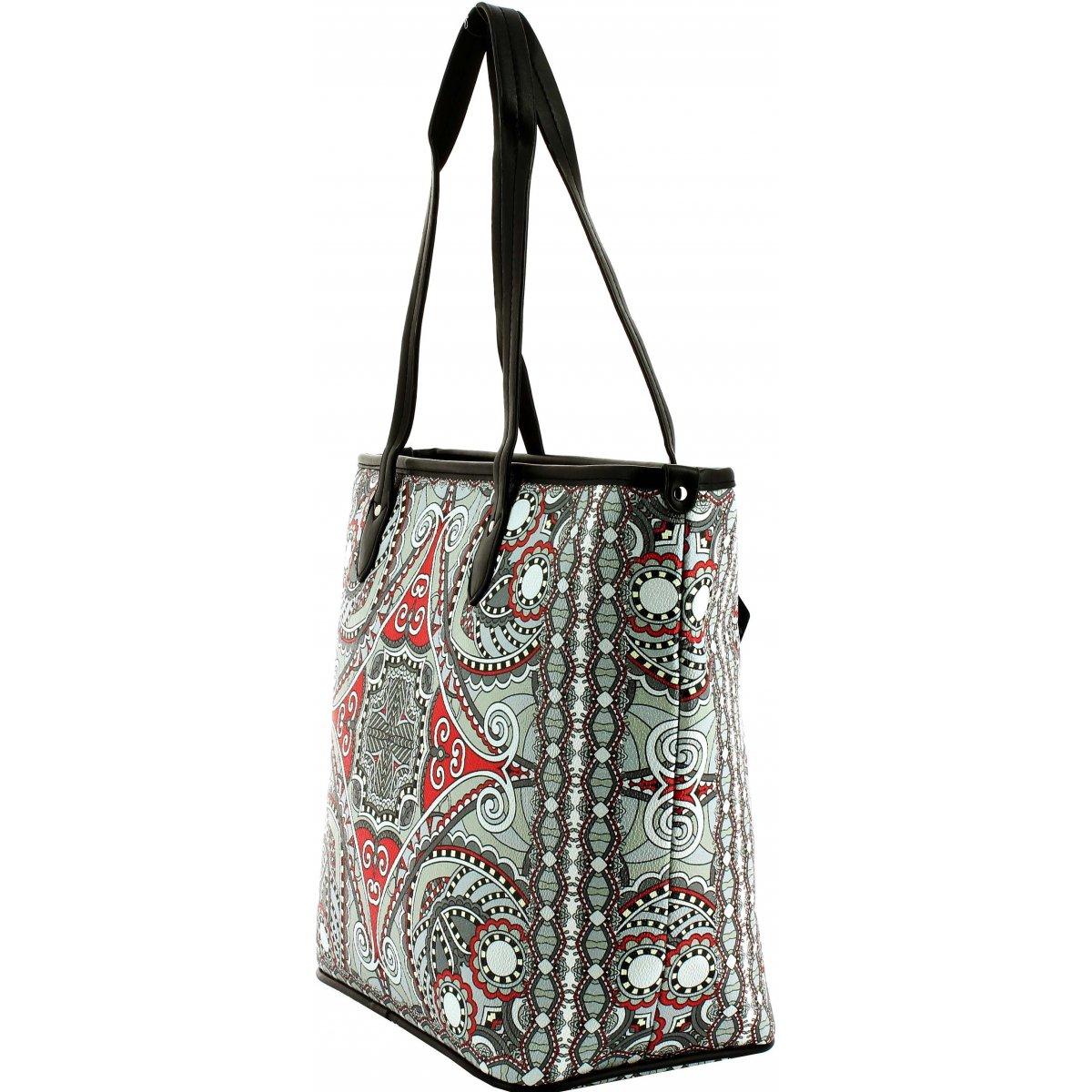 sac main les sacs de krlot fkg00962 couleur principale blanc promotion. Black Bedroom Furniture Sets. Home Design Ideas