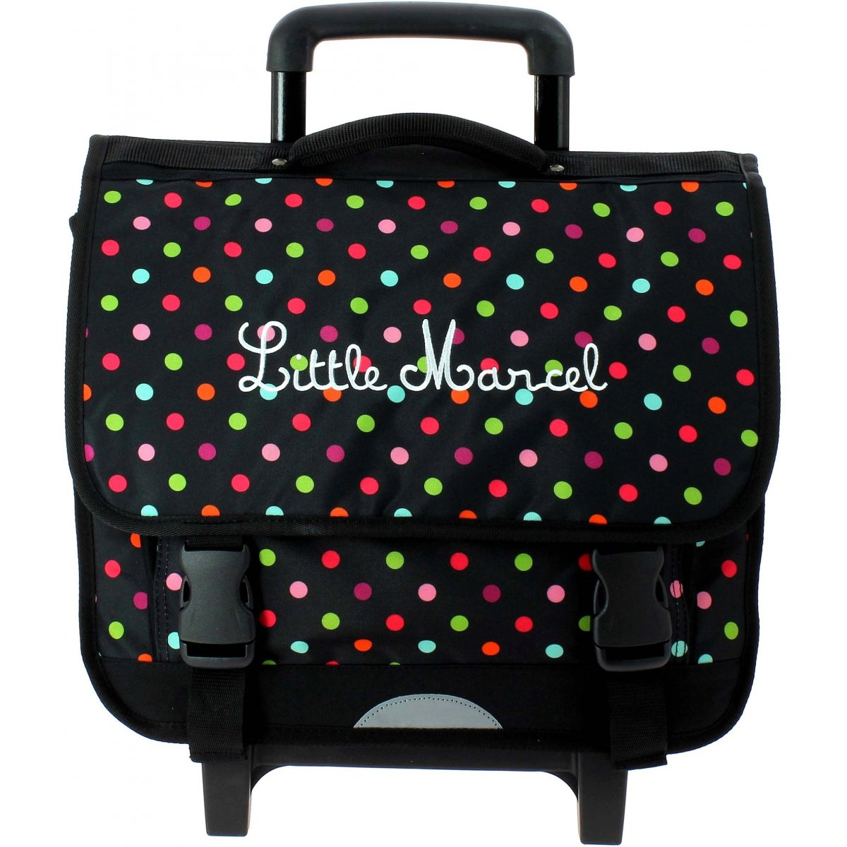 cartable scolaire roulettes little marcel rework229. Black Bedroom Furniture Sets. Home Design Ideas