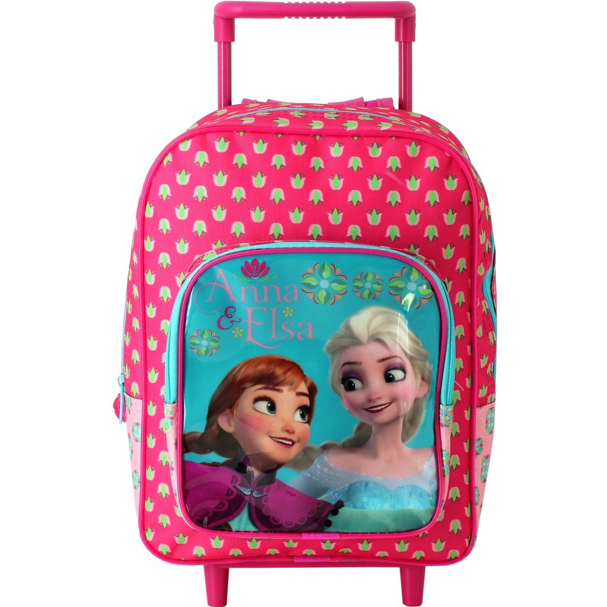 mini sac dos roulettes la reine des neiges ast1357 couleur principale assortis. Black Bedroom Furniture Sets. Home Design Ideas