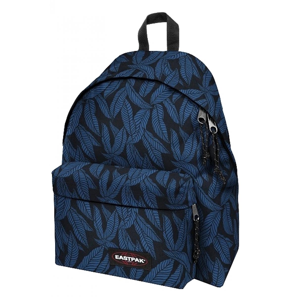 sac dos scolaire eastpak ek620 leaves blue ek62043t couleur assortis. Black Bedroom Furniture Sets. Home Design Ideas