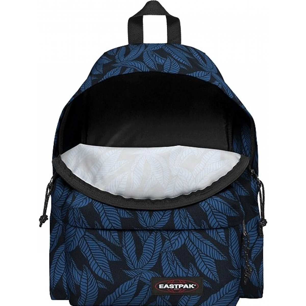 sac dos scolaire eastpak ek620 leaves blue ek62043t couleur assortis. Black Bedroom Furniture Sets. Home Design Ideas