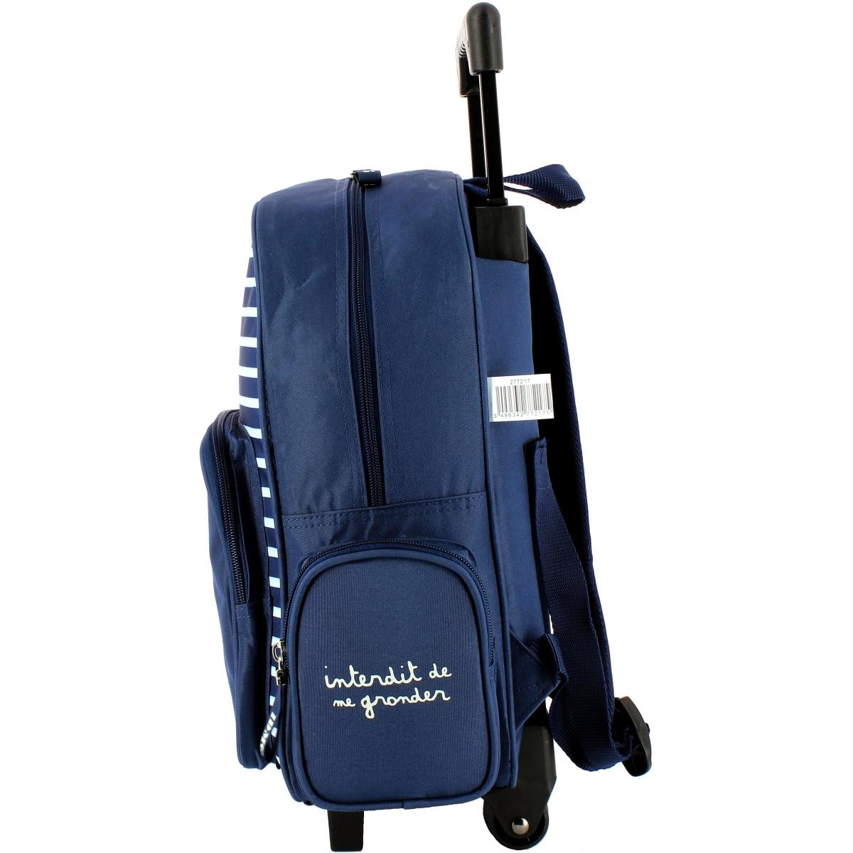 mini sac dos roulettes school pack 27721 couleur principale assortis promotion. Black Bedroom Furniture Sets. Home Design Ideas