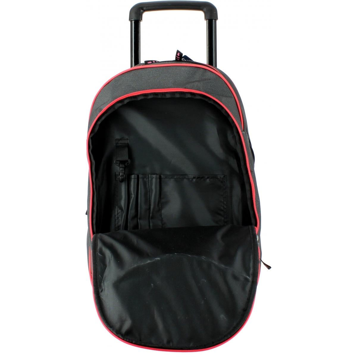 sac dos double roulettes school pack 76037 couleur principale assortis promotion. Black Bedroom Furniture Sets. Home Design Ideas