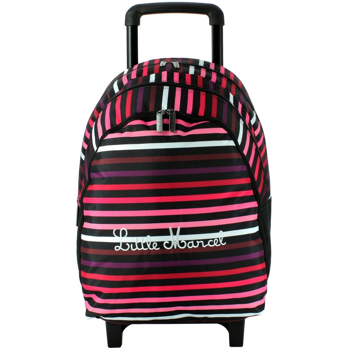 sac dos scolaire roulettes little marcel rimbau50. Black Bedroom Furniture Sets. Home Design Ideas