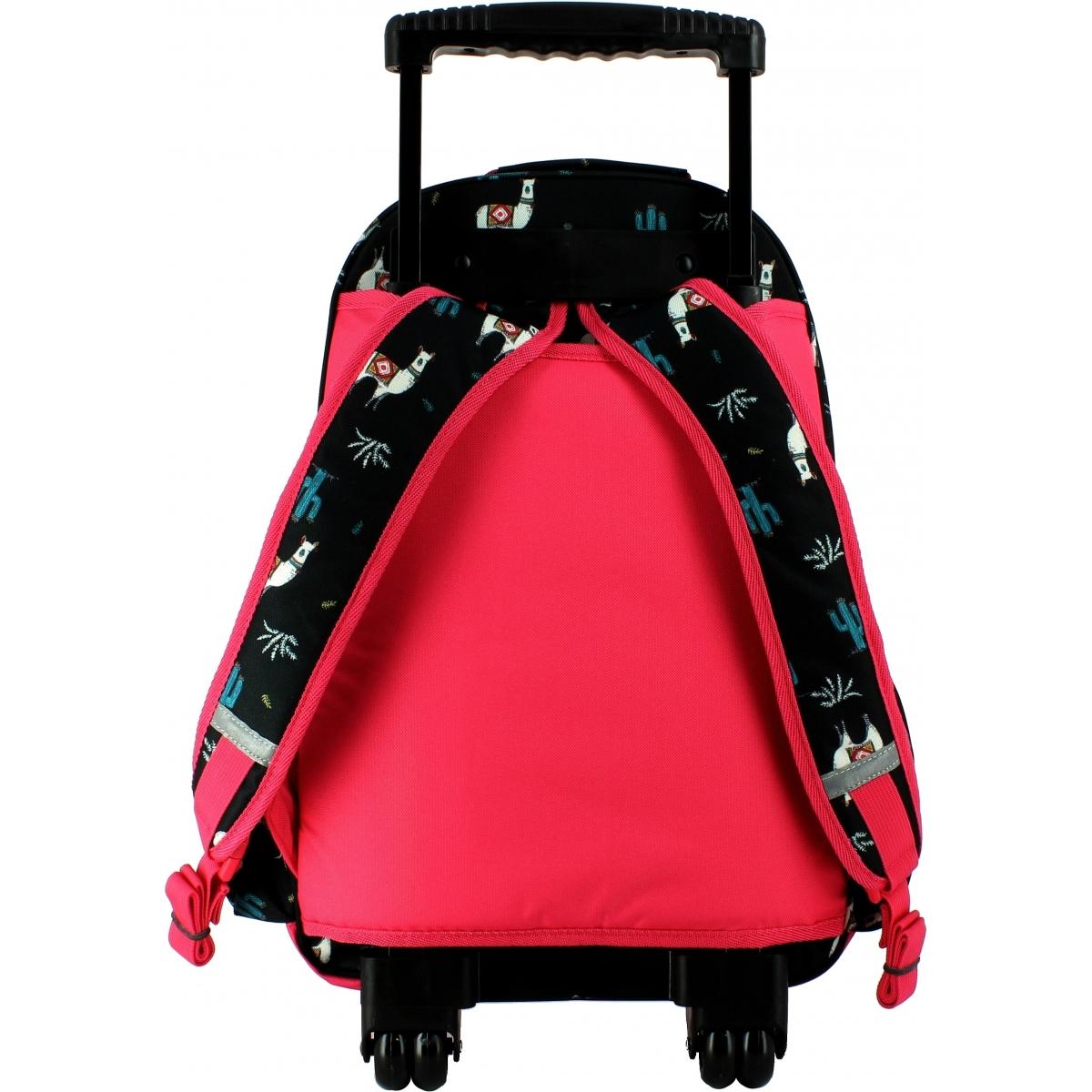 sac dos scolaire roulettes roxy p03024kvj7 couleur principale assortis promotion. Black Bedroom Furniture Sets. Home Design Ideas