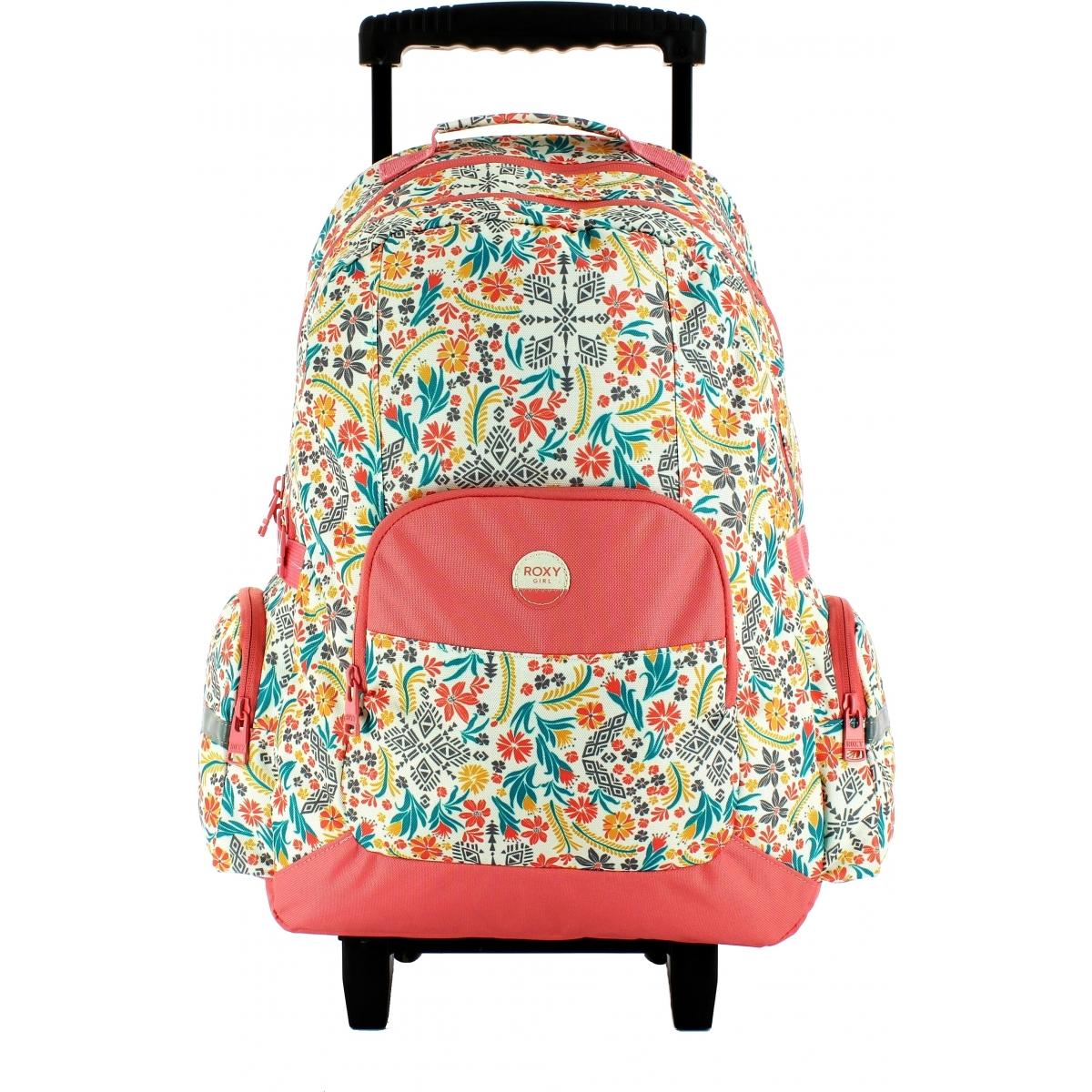 sac dos scolaire roulettes roxy p03024xyyb couleur principale assortis promotion. Black Bedroom Furniture Sets. Home Design Ideas