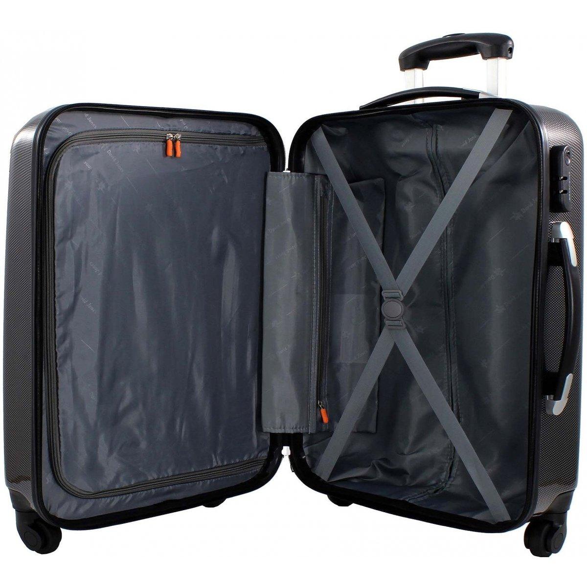 valise cabine ryanair david jones ba20551p couleur principale little pois promotion. Black Bedroom Furniture Sets. Home Design Ideas
