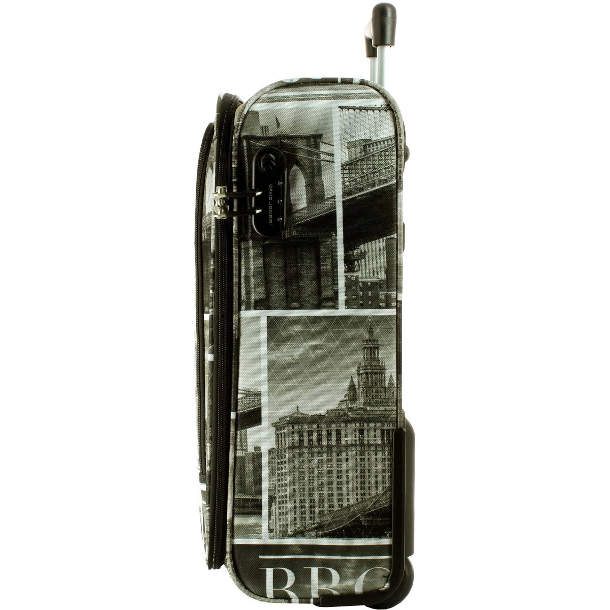 valise cabine ryanair david jones 50 cm ba50271p couleur principale brooklyn solde. Black Bedroom Furniture Sets. Home Design Ideas