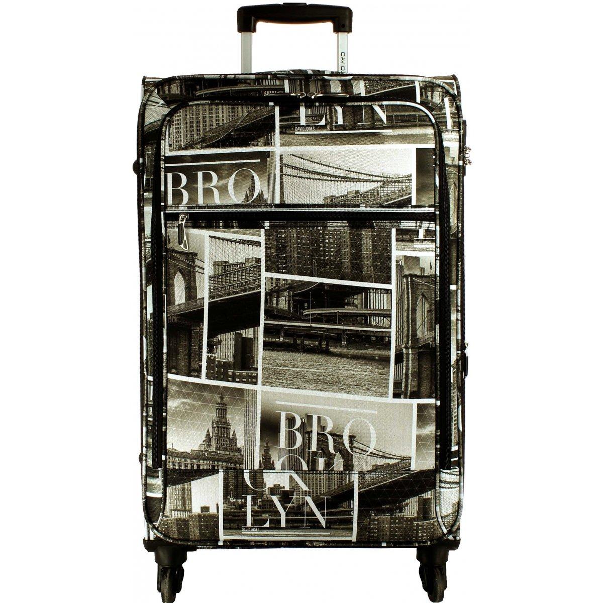 Valise souple david jones 76cm ba50271g couleur - Grande table pas cher ...