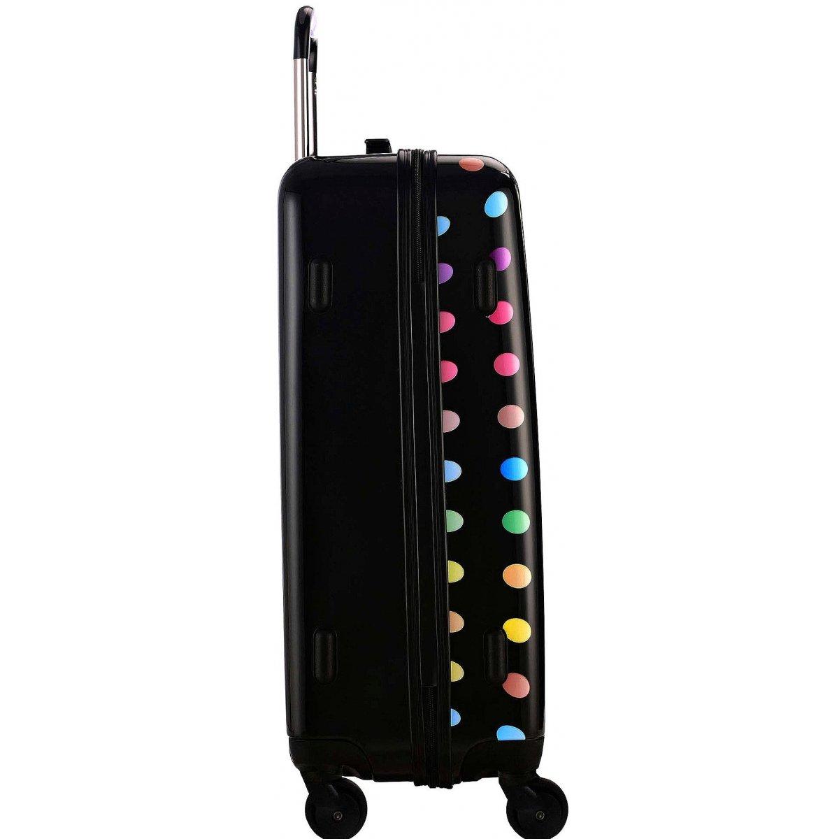 valise rigide david jones taille m 66cm ba20551m couleur principale little pois valise. Black Bedroom Furniture Sets. Home Design Ideas