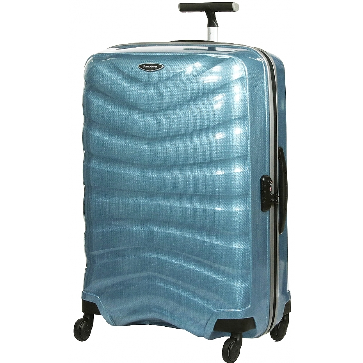 valise samsonite firelite spinner 69cm firelite60 couleur principale sly blue valise pas. Black Bedroom Furniture Sets. Home Design Ideas