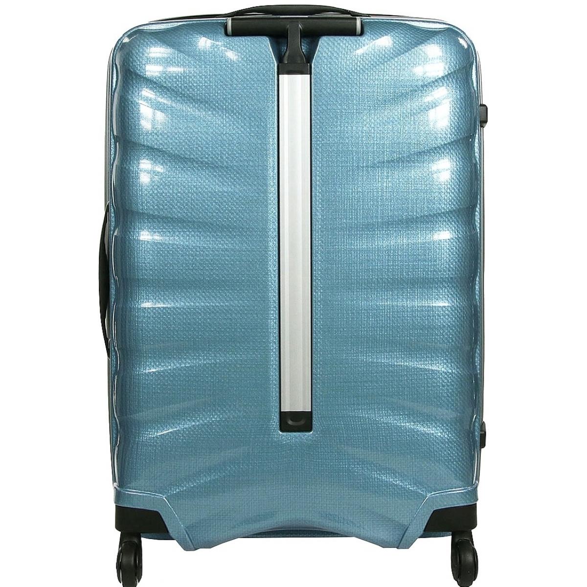valise samsonite firelite spinner 75cm firelite61 couleur principale sly blue promotion. Black Bedroom Furniture Sets. Home Design Ideas