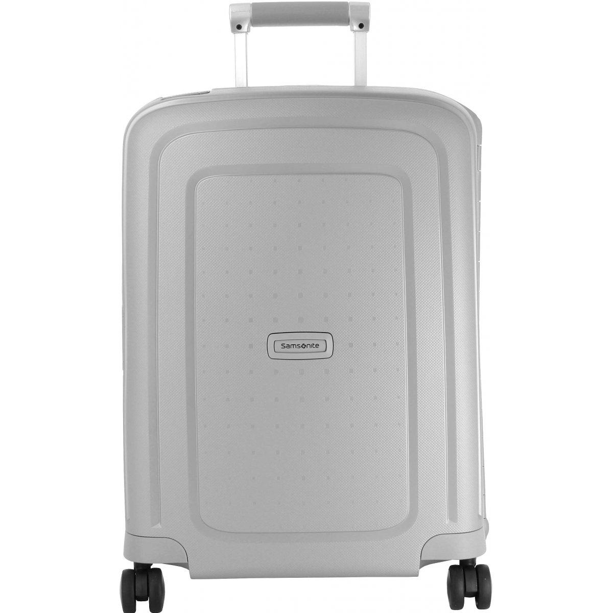 valise cabine samsonite scure spinner 55 cm scure39 couleur principale silver solde. Black Bedroom Furniture Sets. Home Design Ideas