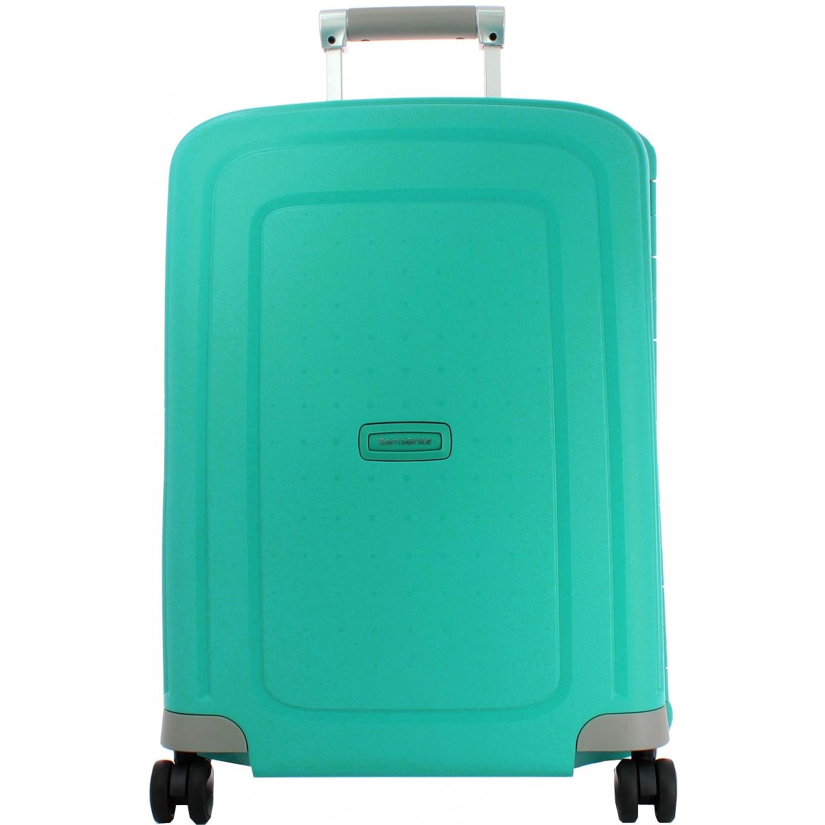 valise cabine samsonite s 39 cure spinner 55cm scure39 couleur principale aqua blue. Black Bedroom Furniture Sets. Home Design Ideas