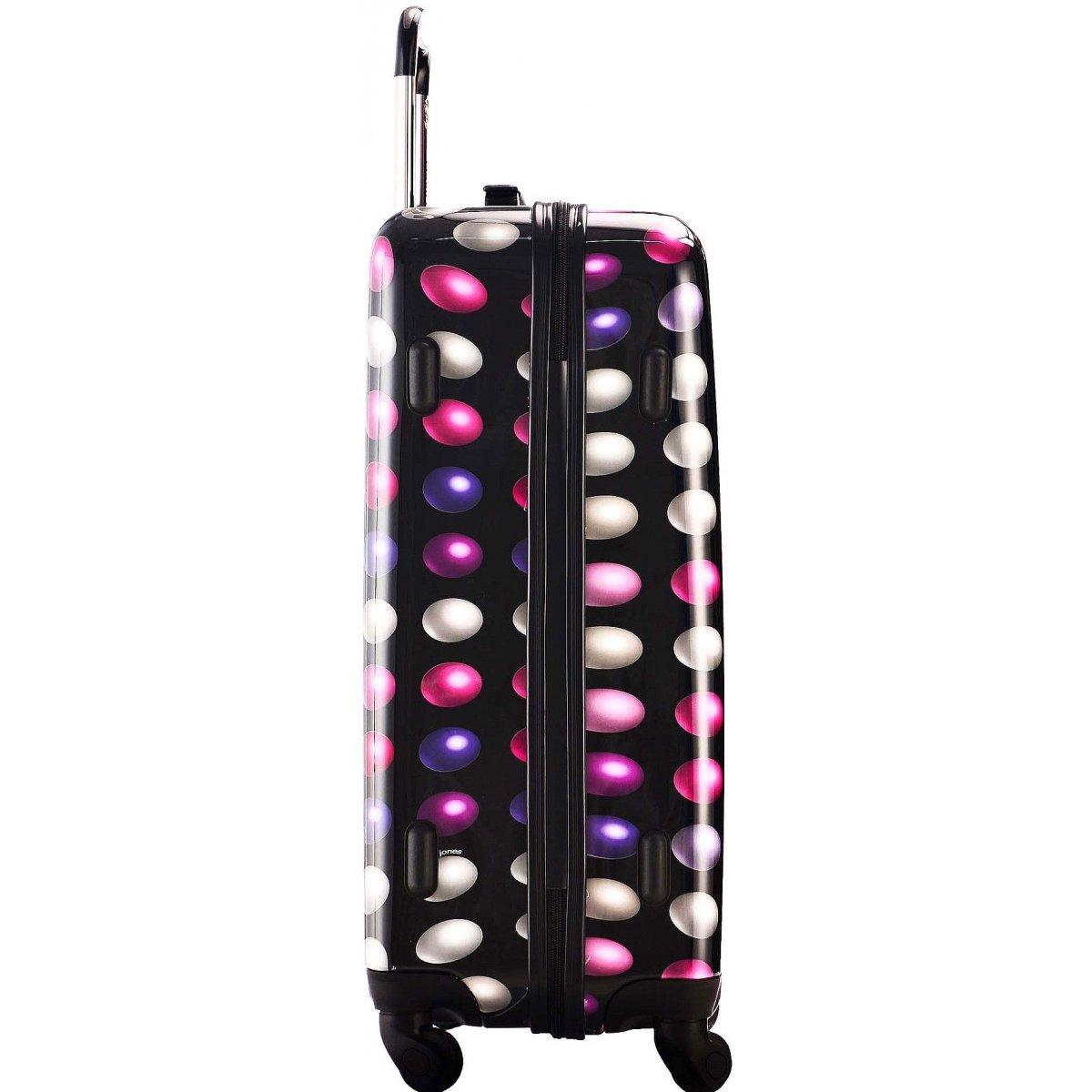 valise rigide david jones taille m 66cm ba20561m couleur principale buzz rose valise pas. Black Bedroom Furniture Sets. Home Design Ideas